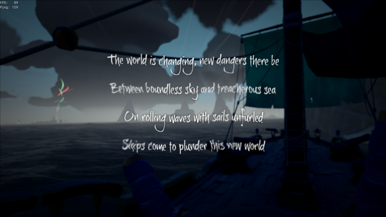 Sea of Thieves The World is Changing Nedir?