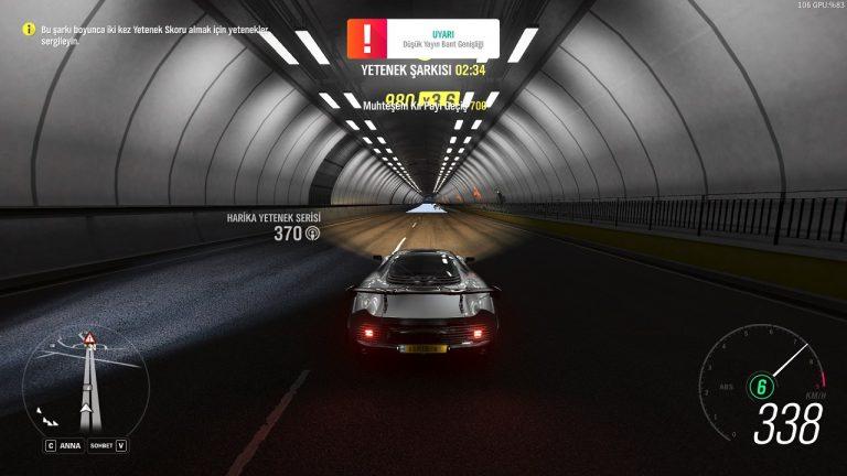 Forza Horizon 4 Düşük Yayın Bant Genişliği Hatası Çözümü